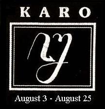 Mangsa Karo  (3 Agustus–25 Agustus).
